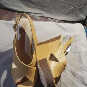 Charles by Charles David wedge sandals size 10